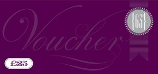 Buy a £25 63 Degrees voucher from our online store